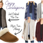 Vanilla Pear Cocktail + Fall Faves: Scarves & Cardigans