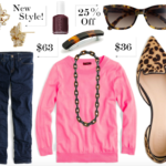 Outfit Inspiration: Tortoise & Pink