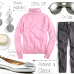 Outfit Inspiration: Pink & Grey + Last Day of the Lilly Pulitzer After Party Sale