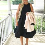 Channeling Jackie O: A Fit & Flare LBD
