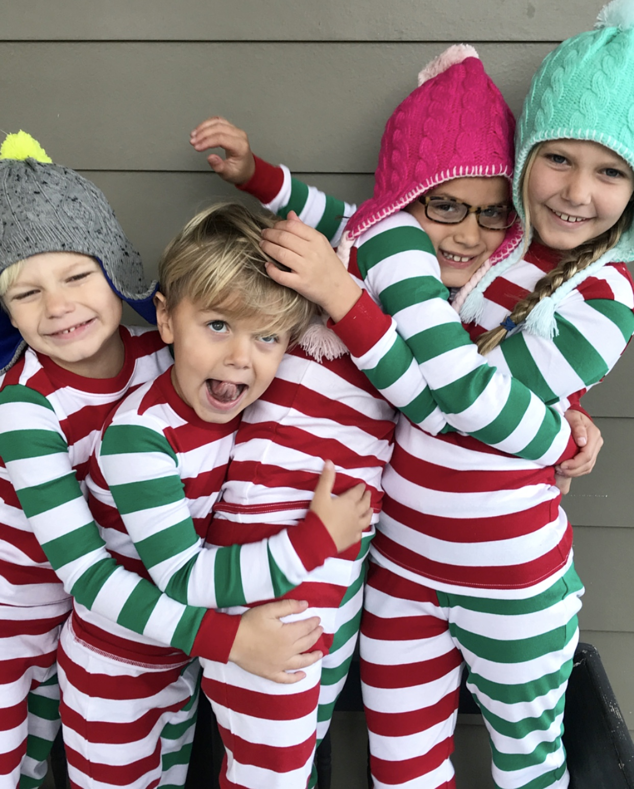 Matching Holiday PJs for the Crew (Only $20 + Free Shipping!) + More ...
