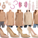 Camel + Light Pink: Perfect Color Combo + Around Town + A House Update