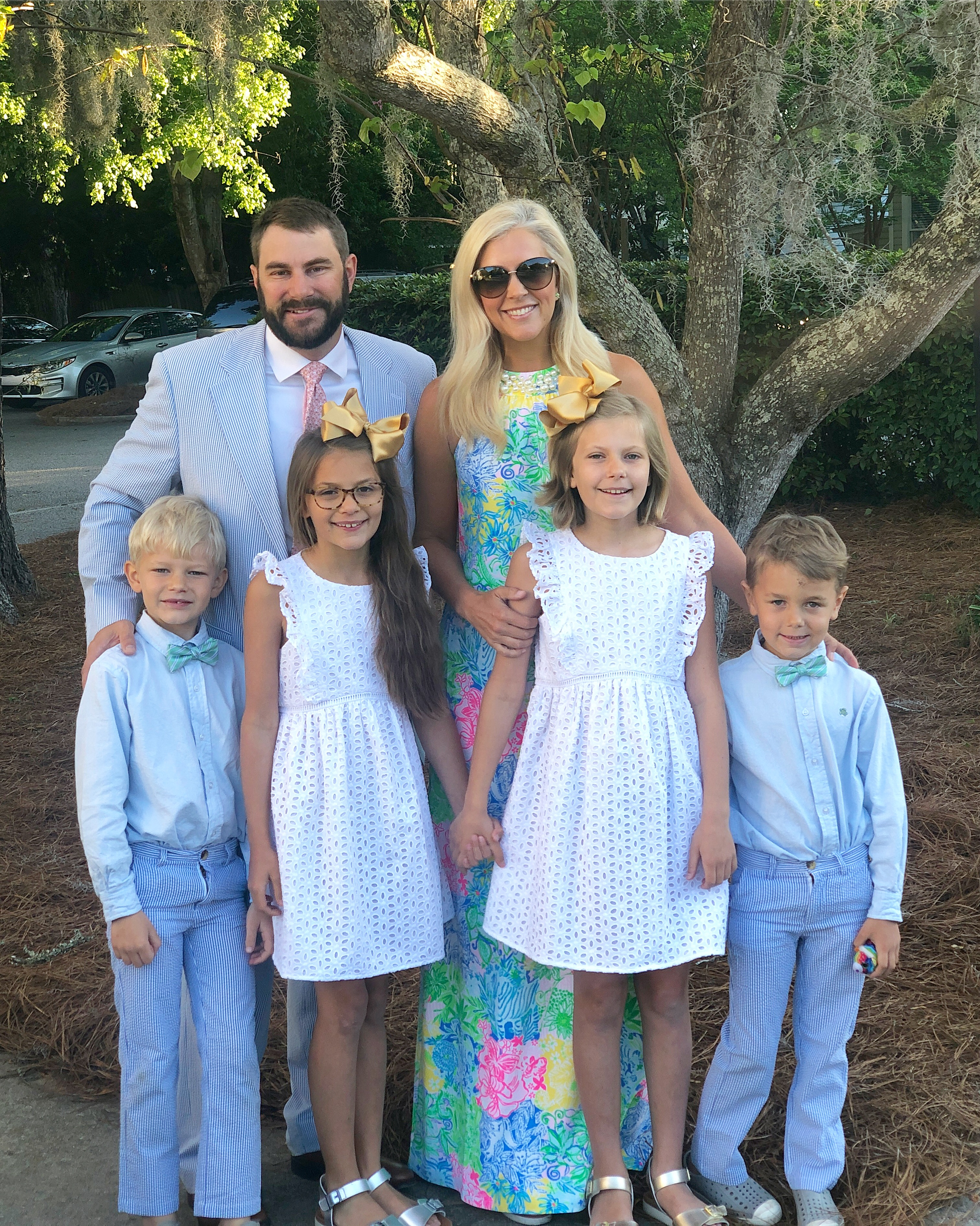 14a4f88f0 I hope y all had a fabulous Easter! The weather couldn t have been more  beautiful! We made it to the 7am Sunrise Service and it was so nice to beat  the ...