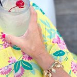 Thirsty Thursday: White Lotus Cocktail + What I Wore